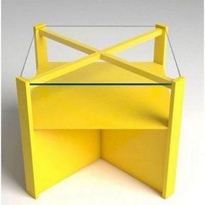 originales mesitas de noche amarillas para tu dormitorio