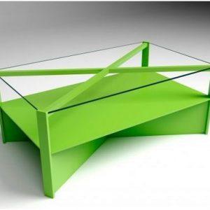mesas de centro verdes originales pra el salón