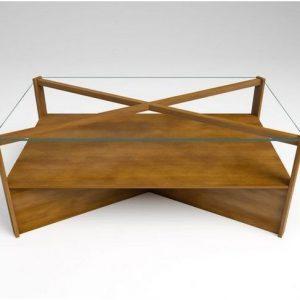 compra mesas de centro nogal en nuestra tienda online