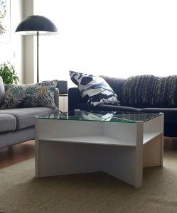 mesas de centro blancas